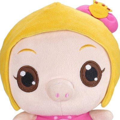 猪猪侠毛绒玩具公仔布娃娃玩偶 飞天猪小猪卡通毛绒儿童玩具【菲菲】