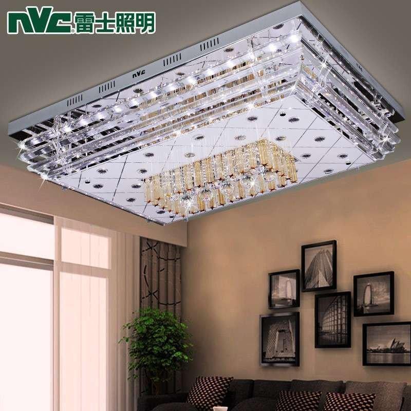 雷士照明led客廳水晶燈餐廳臥室大廳燈新品平板低壓燈nvx2350特價包郵