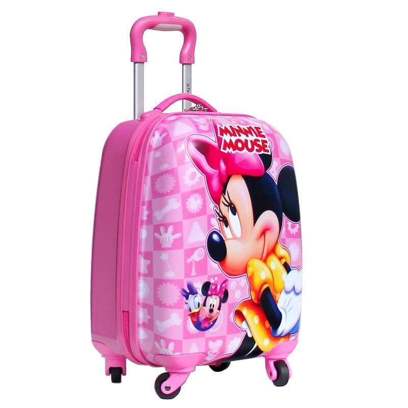 【迪士尼(disney)拉杆箱】迪士尼儿童拉杆箱16寸米奇