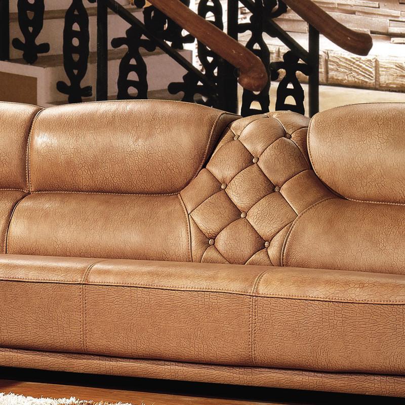 真皮沙发欧式实木雕刻中厚皮沙发客厅转角