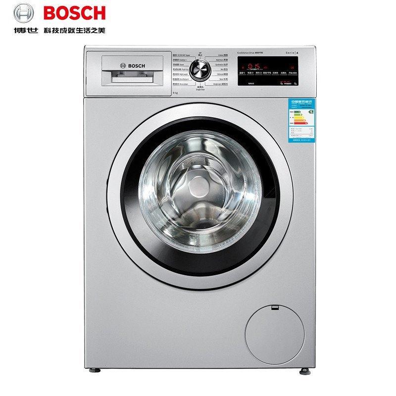 博世(BOSCH) XQG90-WAP242681W 9公斤 滚筒洗衣机(银色)