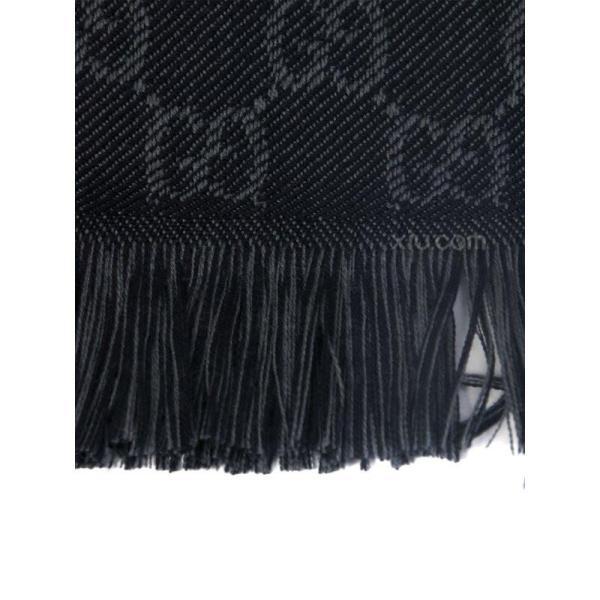 男士羊毛提花编织图案休闲围巾100995