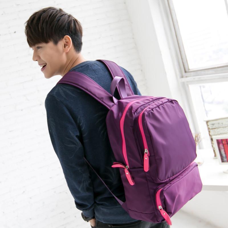 吉野2015新款男女双肩包韩版背包潮男包包大包包尼龙包防水包大包包学