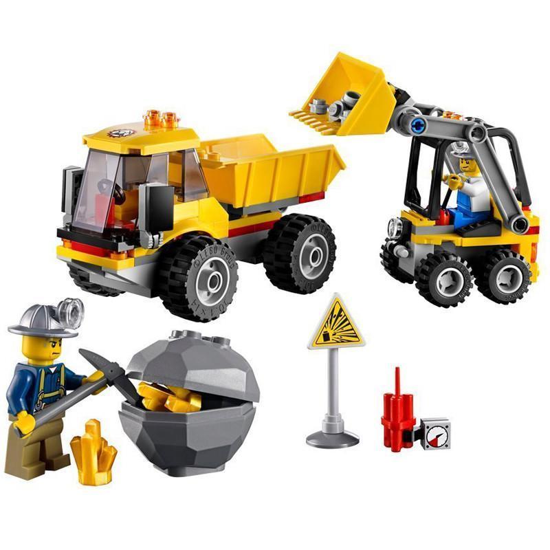乐高lego 4201 城市系列 装载机和翻斗车 早教 拼插积木 玩具
