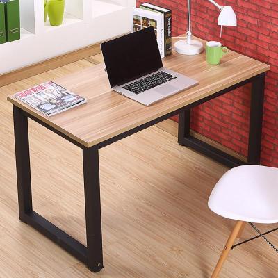 钢木书桌台式电脑桌简约写字台办公