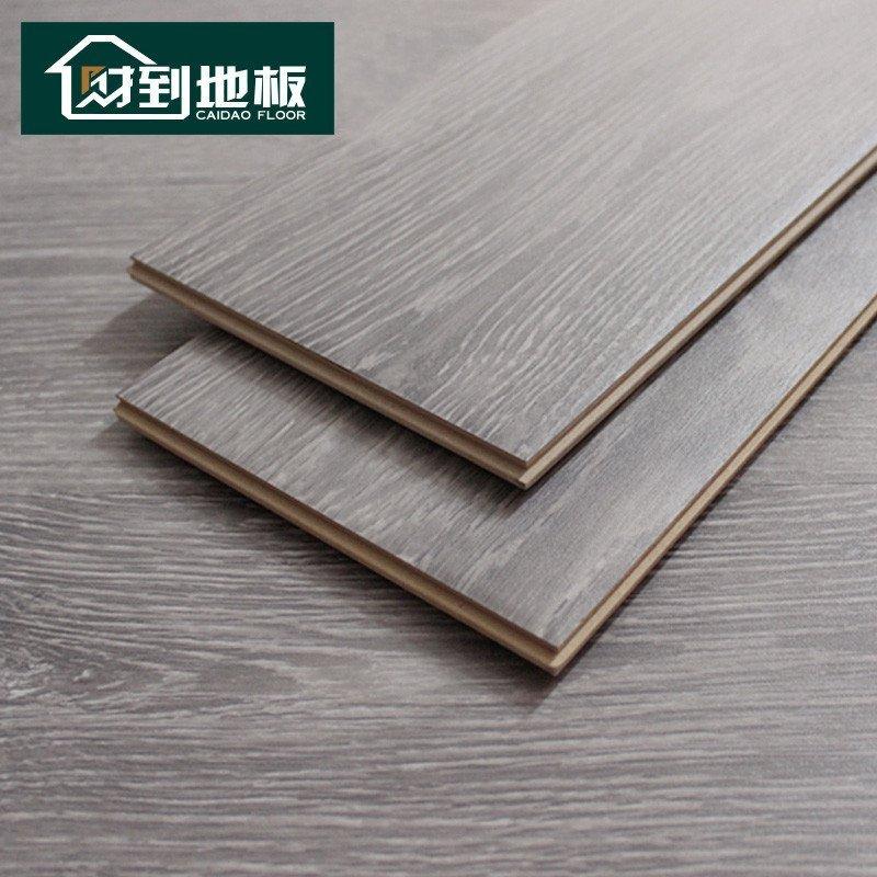 财到地板 强化复合木地板 罗曼经典