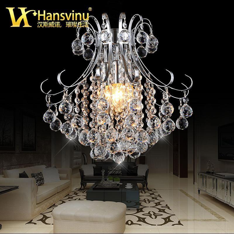 汉斯威诺 欧式奢华水晶灯客厅吊灯 楼梯灯酒店大堂灯高档工艺吊灯
