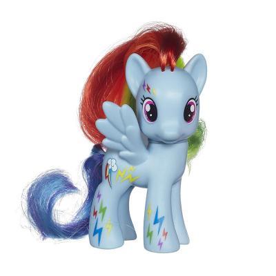 小马系列女孩娃娃玩具可爱动物造型蓝色云宝a2360/a