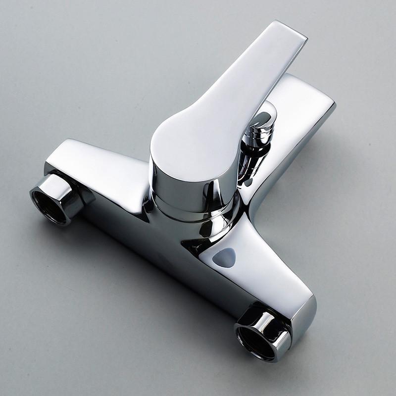 普莎 淋浴龙头 浴室暗装三联淋浴 龙头冷热水龙头混水阀花洒 全铜 c3图片