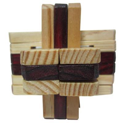 半圆积木锁拼法图解
