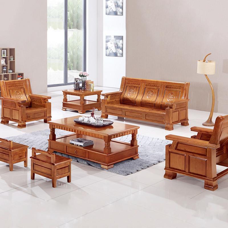 实木沙发组合 高档