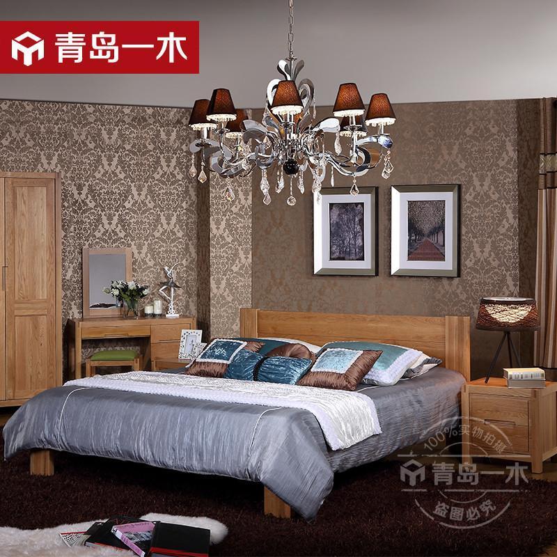 白橡木简约实木家具