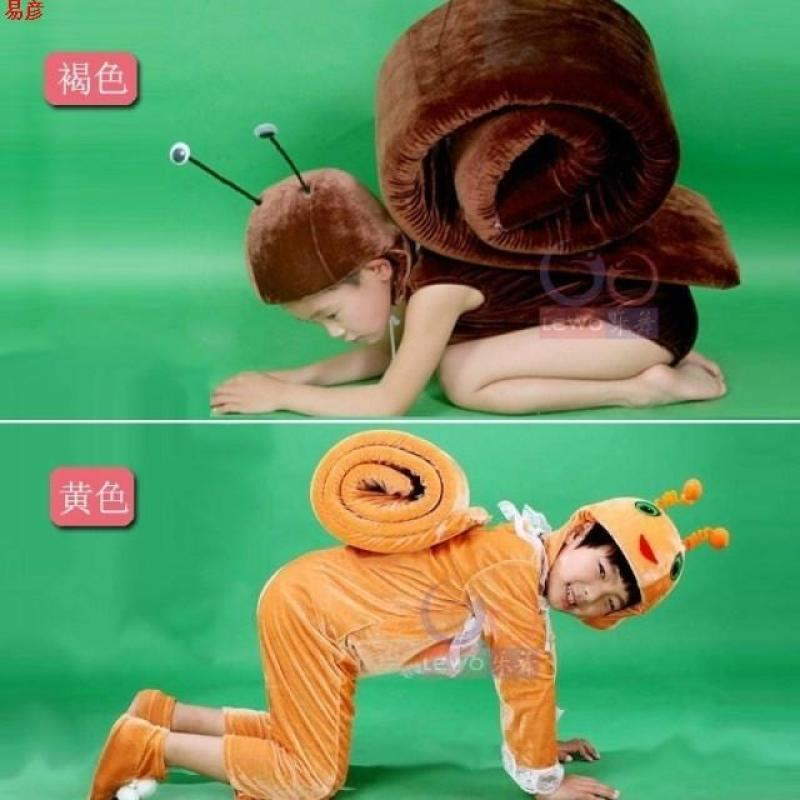 儿童蜗牛动物表演服幼儿蜗牛