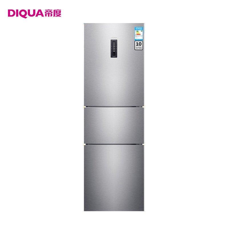 帝度(DIQUA) BCD-252WTE 252升三门风冷冰箱(钛灰横纹)