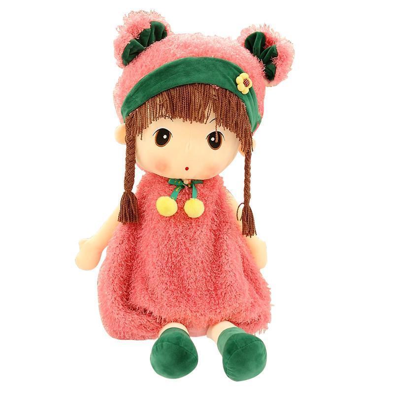 可爱菲儿布娃娃毛绒玩具公仔 粉猪菲儿 45cm