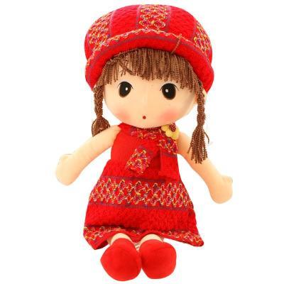 可爱菲儿布娃娃毛绒玩具公仔 红色毛衣款菲儿 90cm