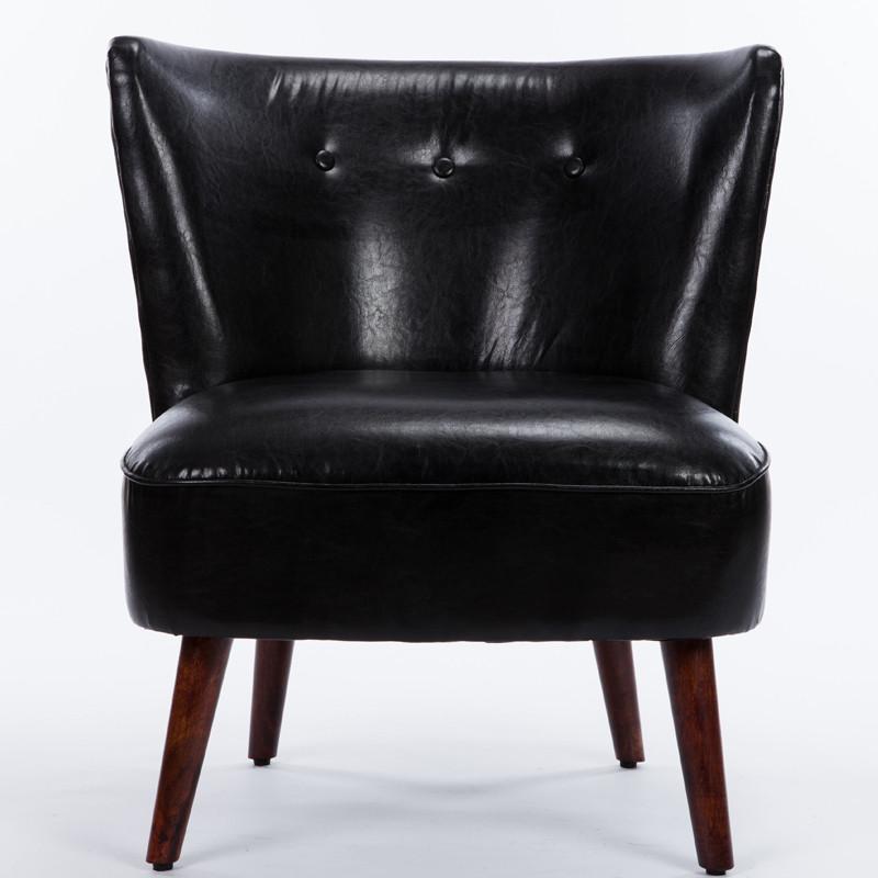 韵奇客厅家具沙发 欧式复古单人沙发现代简约时尚沙发咖啡厅 布艺沙发