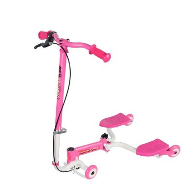 cocomao酷可猫儿童手摆式小溜溜车 滑板车 摇摆车 三轮车 扭扭 4008
