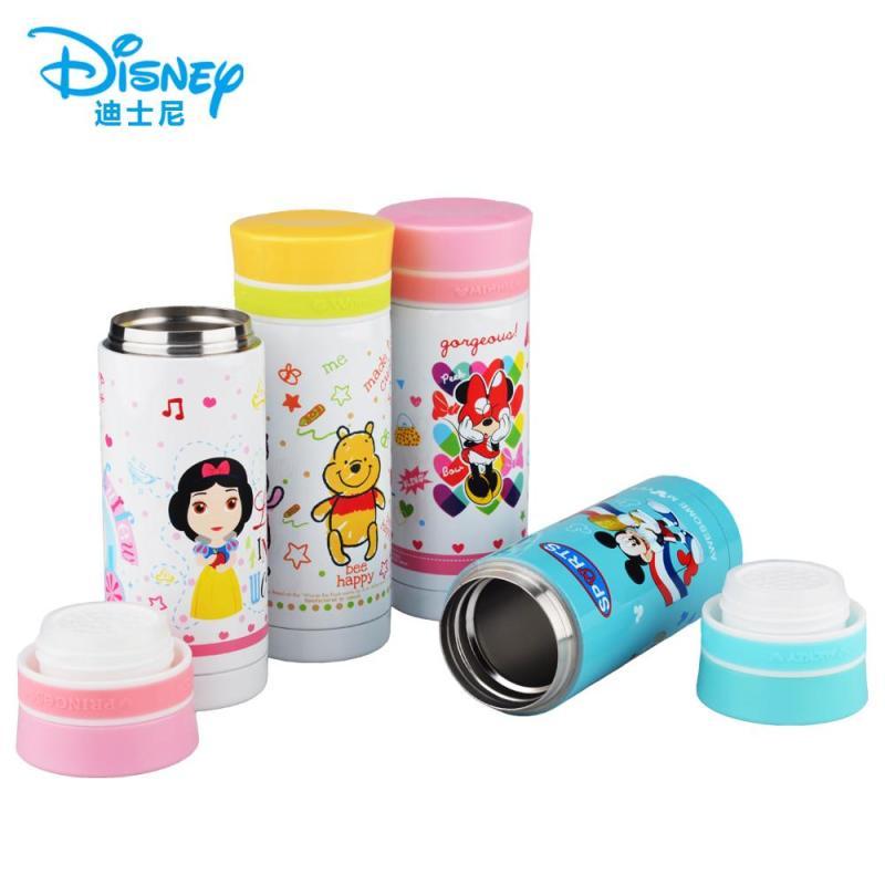 迪士尼蒲苇保温杯 可爱儿童水杯子 创意卡通便携学生保温杯子 dc-200