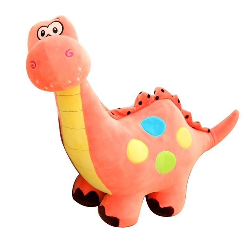 【安吉宝贝(anjibaobei)毛绒公仔】可爱彩色小恐龙