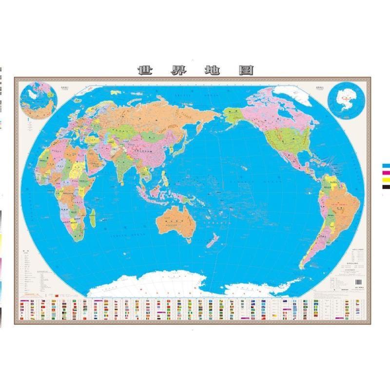 世界地图高清实拍图