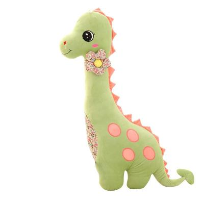 安吉宝贝可爱恐龙 抱枕卡通枕头毛绒玩具布娃娃玩偶生日礼物女生 恐龙