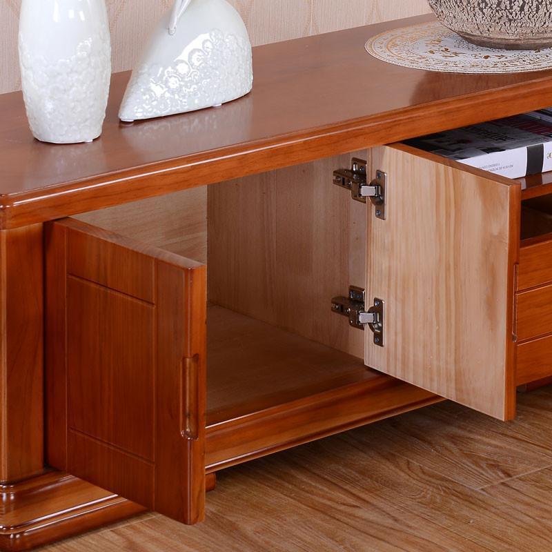 中式实木电视柜组合