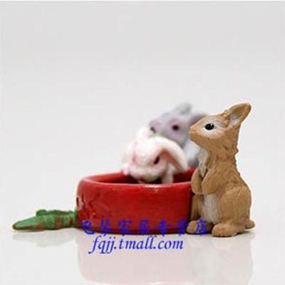 思乐schleich兔宝宝动物模型