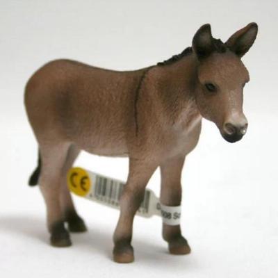 思乐schleich德国驴仿真动物模型玩具收藏精品
