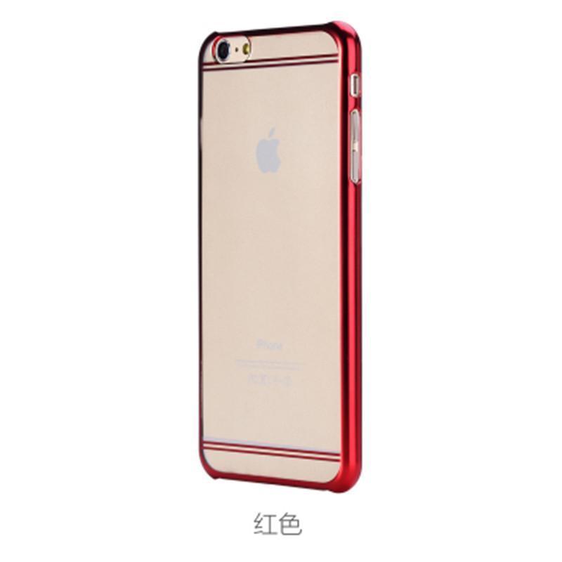 plus边框保护套超薄圆弧苹果6手机壳5