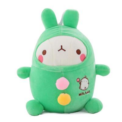 安吉宝贝可爱流氓兔公仔 毛绒玩具兔兔玩偶布娃娃 儿童节生日礼物女生