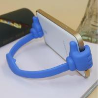 上店创意大拇指手机通用苹果支架支架懒人手iphone关机键坏了图片