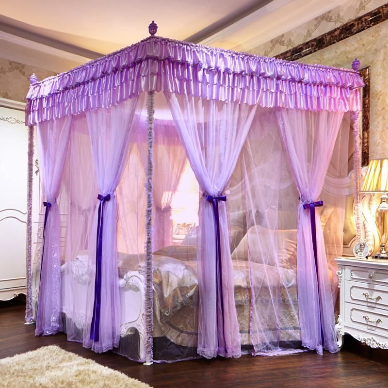 紫色欧式豪华公主房
