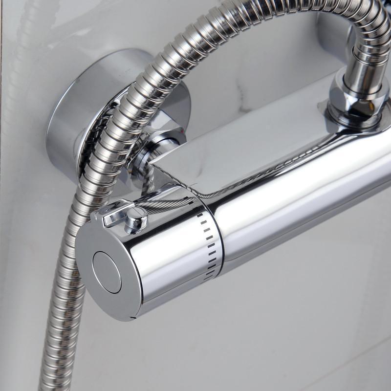 恒温龙头 全铜暗装淋浴 太阳能电热水器混水阀暗装反向(3代阀芯)6分图片
