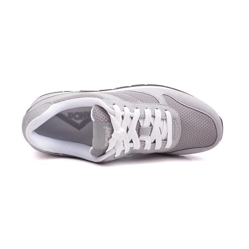 �g�r|_pony波尼新品夏季男运动鞋sola复古舒适慢跑步鞋52m1so01gr/rb 灰色