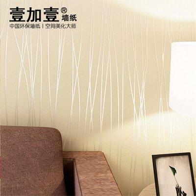 儿童房竖条花纹墙纸图片