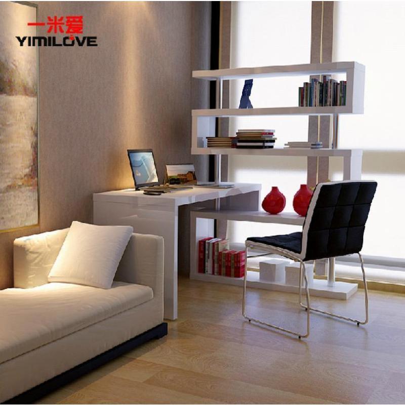 一米爱家具旗舰店  一米爱转角书桌书架组合 卧室旋转电脑桌台式家用
