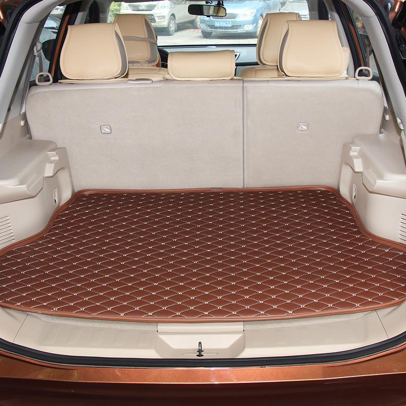 坐垫/脚垫 专车专用后备箱垫 麦车饰 麦车饰 新款汽车后备箱垫子专用
