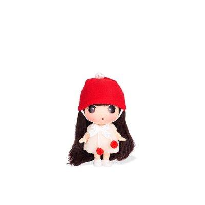ddung冬己娃娃 来自韩国的迷糊娃娃 9cm可爱版 实惠装 红帽樱桃娃娃