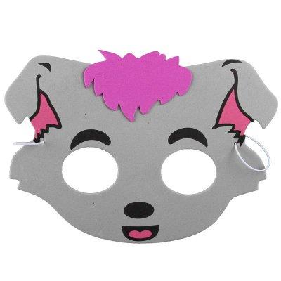 小灰灰可爱图片面具