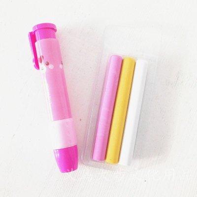 家英1315自动橡皮擦 按动橡皮擦 自动笔型铅笔擦 学生用品可爱