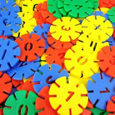 猫贝乐大号加厚塑料雪中花片儿童益智拼插积木宝宝启蒙拼装玩具 300片