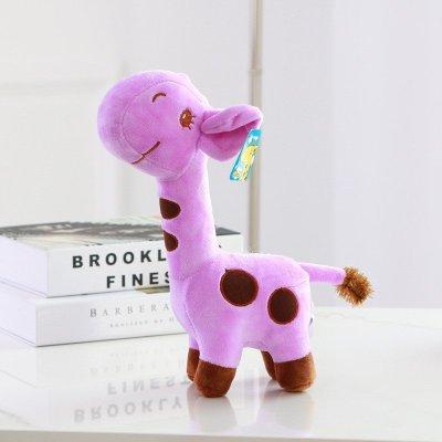 可爱动物毛绒玩具布娃娃生日礼品紫色45cmf3130345