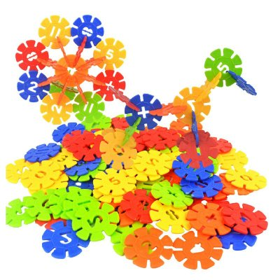 速翔玩具1000片雪花片积木拼插拼装塑料积木儿童幼儿园学习益智