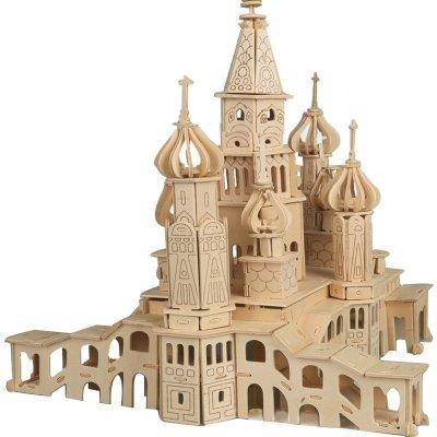 古建筑俄罗斯城堡