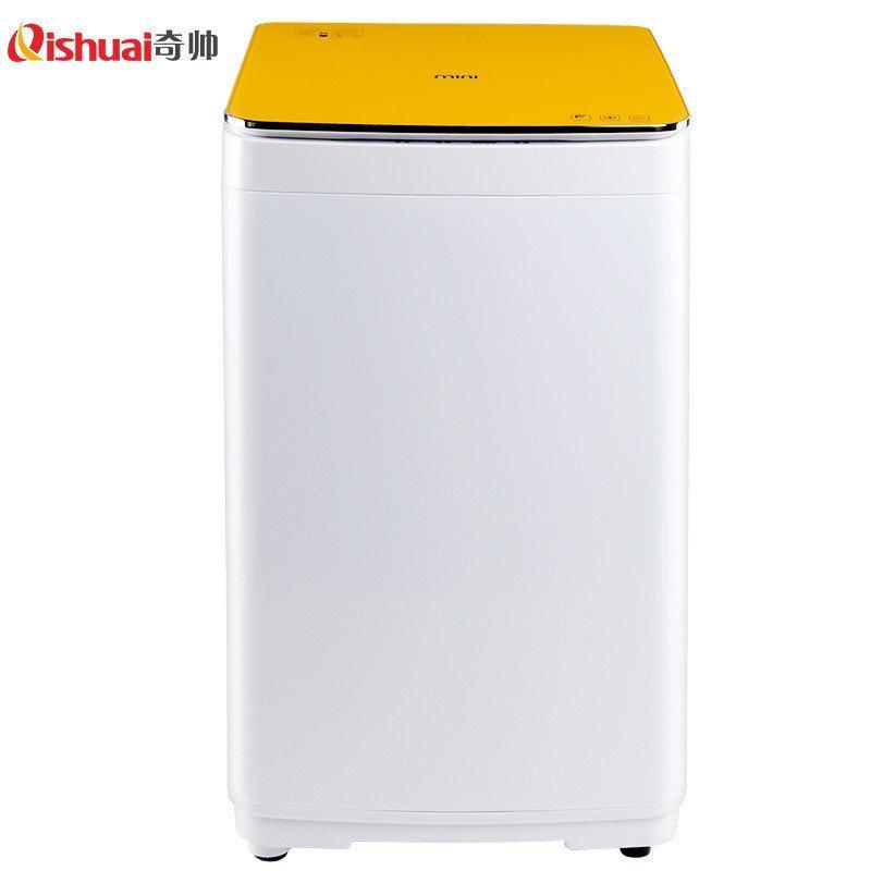 奇帅/Qishuai XQB40-400 4公斤全自动婴儿家用儿童迷你波轮洗衣机(星光橙)