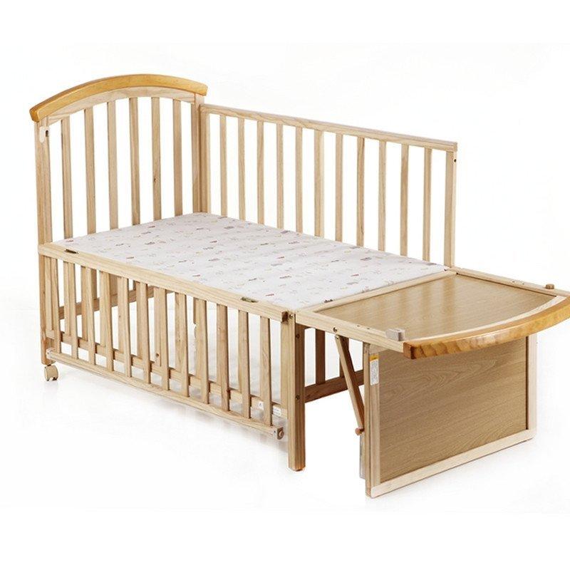 好孩子 婴儿床宝宝童床mc598环保实木送摇篮蚊帐儿童床mc598可加长