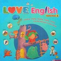 进口幼儿早教英语教材Love English4正版教材