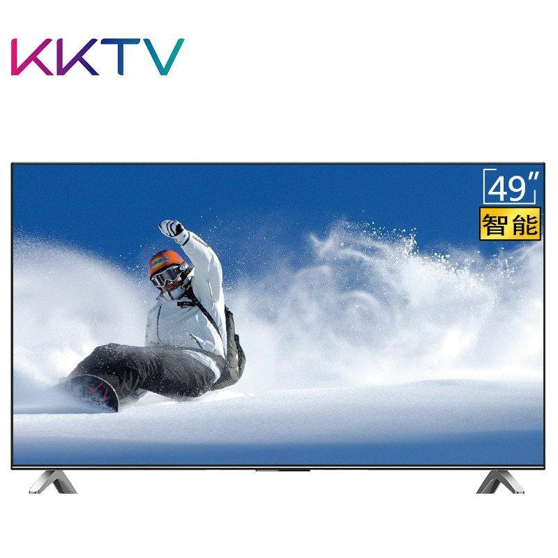 康佳KKTV K49 49英寸64位处理器8核安卓智能全高清WIFI平板液晶电视