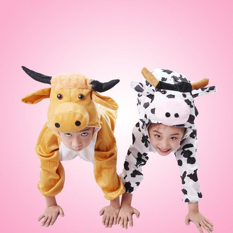 】儿童动物表演服装国庆幼儿园演出舞台服饰